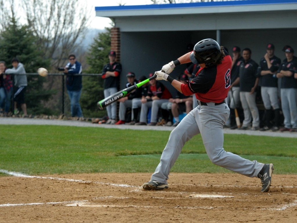 Freshman shortstop Ryan Tracy drove in two runs on two hits against Gallaudet. Courtesy of CUACardinals.com